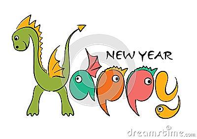Dragon -- Happy new year