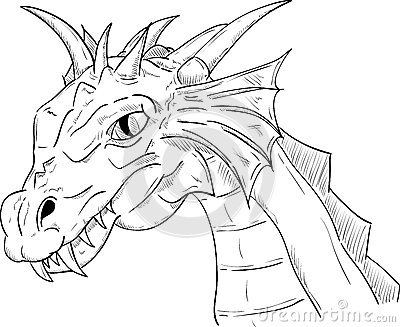 Dragon Head Royalty Free Stock Photography - Image: 34751237