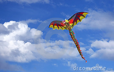 Dragon Kite in the Sky