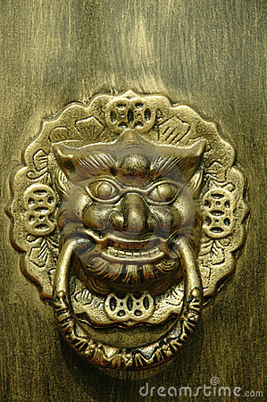 Dragon or Lion Doorway