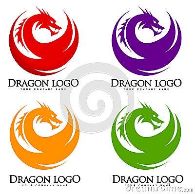 Free Dragon Logo Stock Photo - 36905630