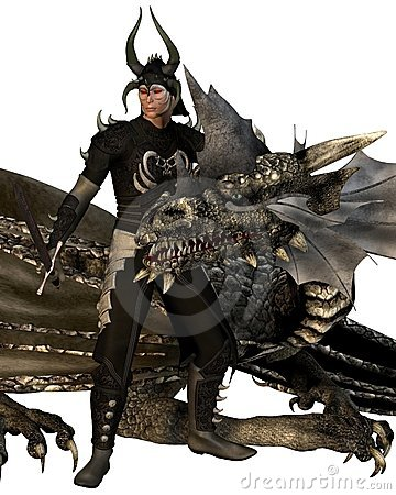 The Dragon Lord and Dragon