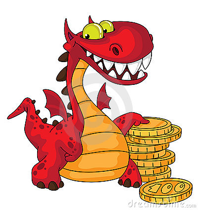 Dragon and money