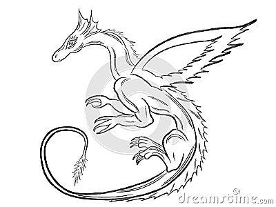 Tatouage Dragon asiatique sur dos - Le-Tatouagecom