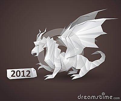 Dragon origami
