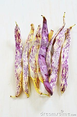 Dragon s Tongue beans