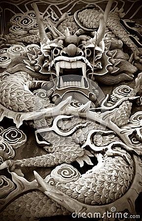 Free Dragon Statue Stock Photography - 11744862