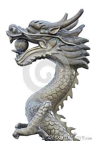 Free Dragon Statue Stock Image - 16318521