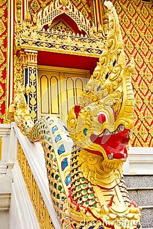 Dragon at Thai temple