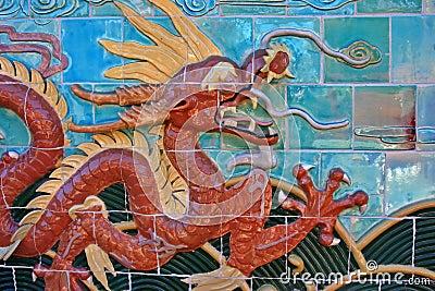 Dragon tiles