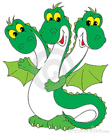 Dragon (vector clip-art)