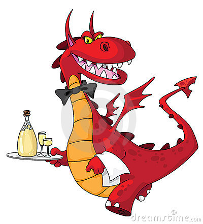 Dragon waiter