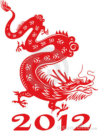 dragon year 2012 chinese zodiac royalty free stock photo image 22266475. Black Bedroom Furniture Sets. Home Design Ideas