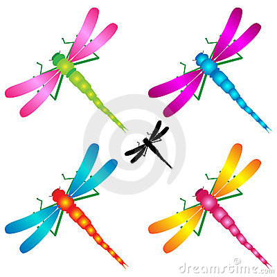 Abstract Dragonfly Clip Art Royalty Free Stock Photo - Image: 2807035