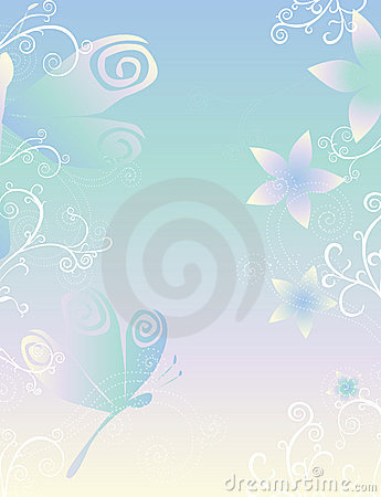 Dragonflies & Flowers Paper