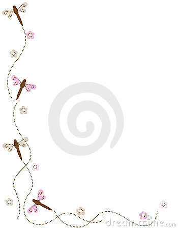Free Dragonfly Corner Royalty Free Stock Photos - 7403668