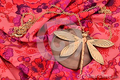 Dragonfly neckless