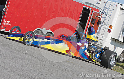 Dragster Editorial Stock Photo