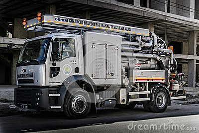 Drain Cleaning Truck
