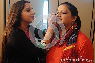 Drama indio Imagen de archivo editorial