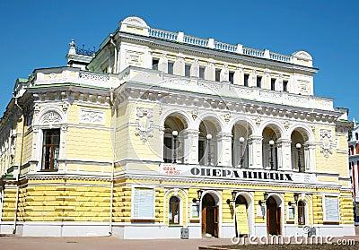 Drama Theatre Nizhny Novgorod Editorial Photo