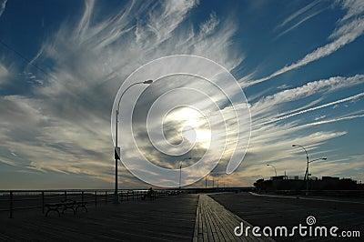 Dramatic Boardwalk