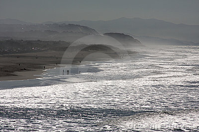 Dramatic California Shoreline