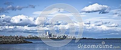 Dramatic Cloud over Toronto