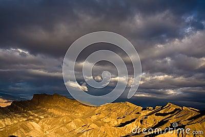 Dramatic Death Valley Sunrise
