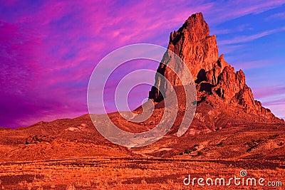 Dramatic Desert Landscape