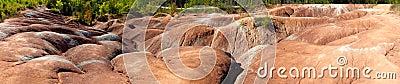 Dramatic erosion at Cheltenham Badlands