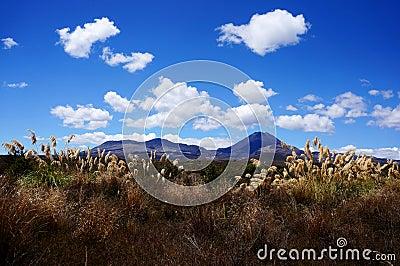 Dramatic mountain landscape - Tongariro Crossing