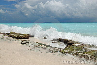Dramatic seaside scenery