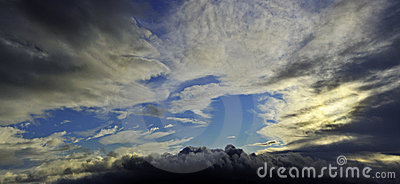 Dramatic sky