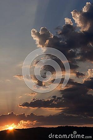 Free Dramatic Sunset Stock Photography - 30281362