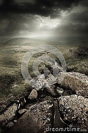 Dramatic Wild Moorlands