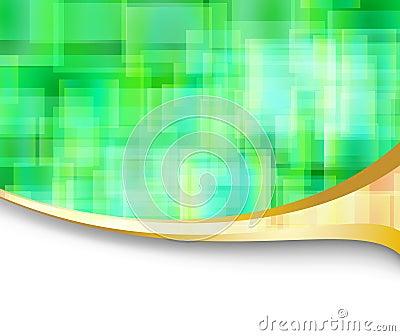 Drapeau énergique de pointe abstrait