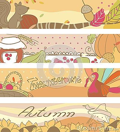 Drapeaux d automne