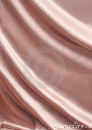Draped pink silk for luxury background
