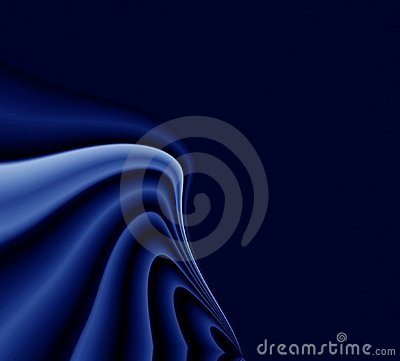 Drapery dark blue background