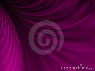 Drapierendes purpurrotes Gewebe Swoosh
