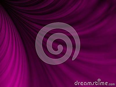 Draping Purple Fabric Swoosh