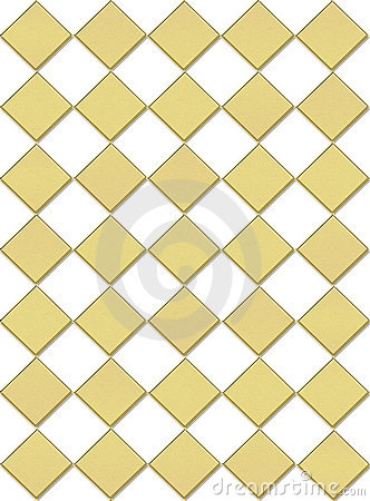Draught-board background in gold