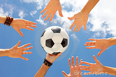Draw of ball