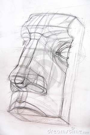 Drawing academic / Nose