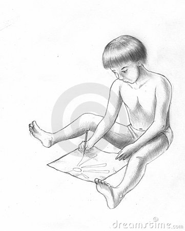 Drawing child