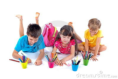 Drawing children