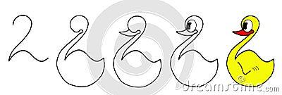 Drawing ducks