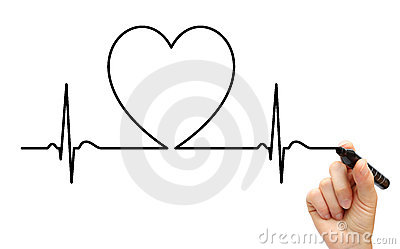 Drawing ECG line