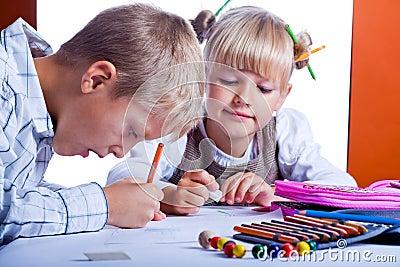 Drawing kids 1